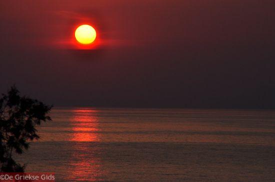 Zonsondergang in Skaletta Rethymnon